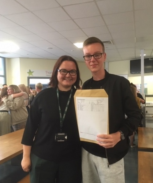 GCSE Results: Students at Havelock Academy celebrate outstanding results